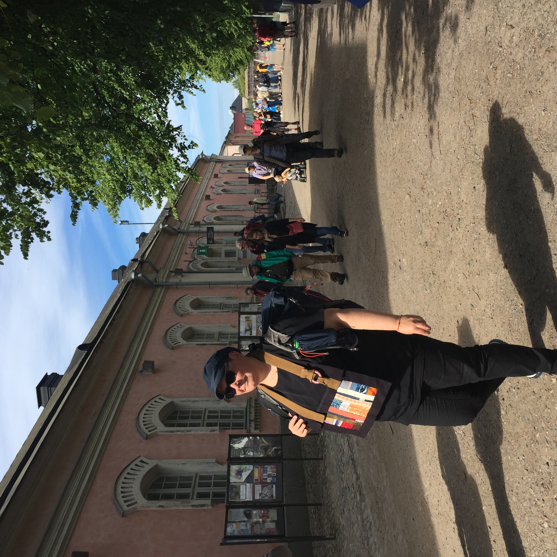 Peacemaker Maija Myosho Ijäs bearing witness to Suomenlinna Prison Camp