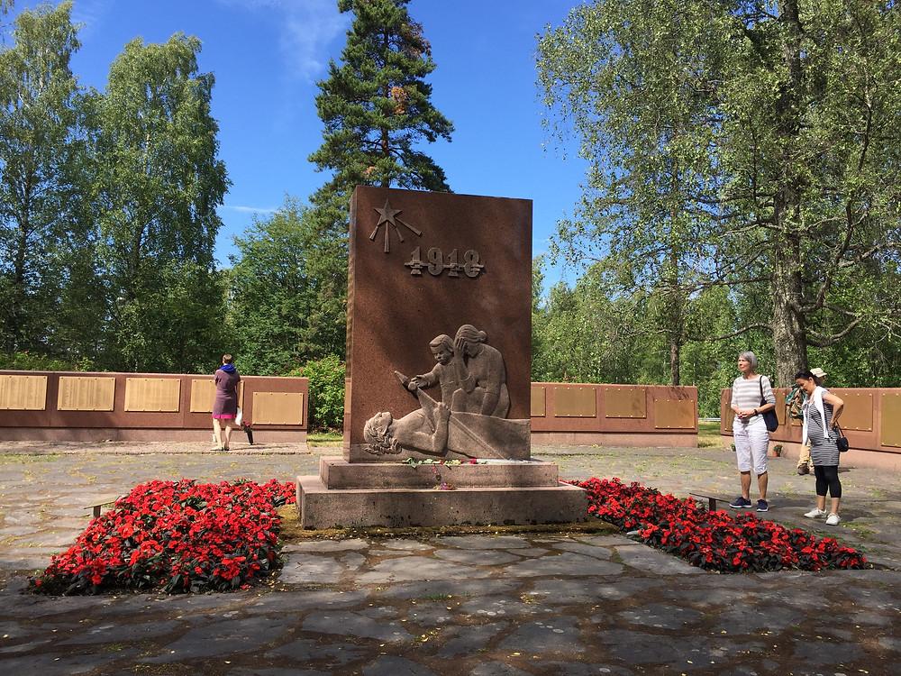 Massgrave memorial at Tammisaari
