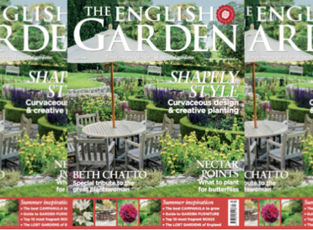 Spot The Palace Gardener in The English Garden's July issue!