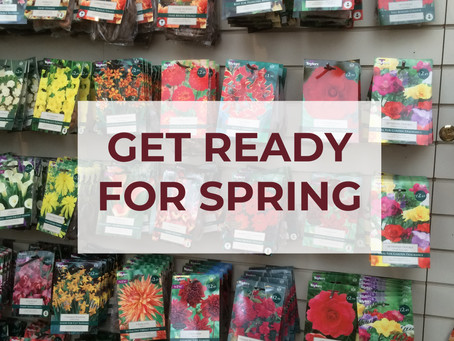 Get ready for spring at The Palace Gardener