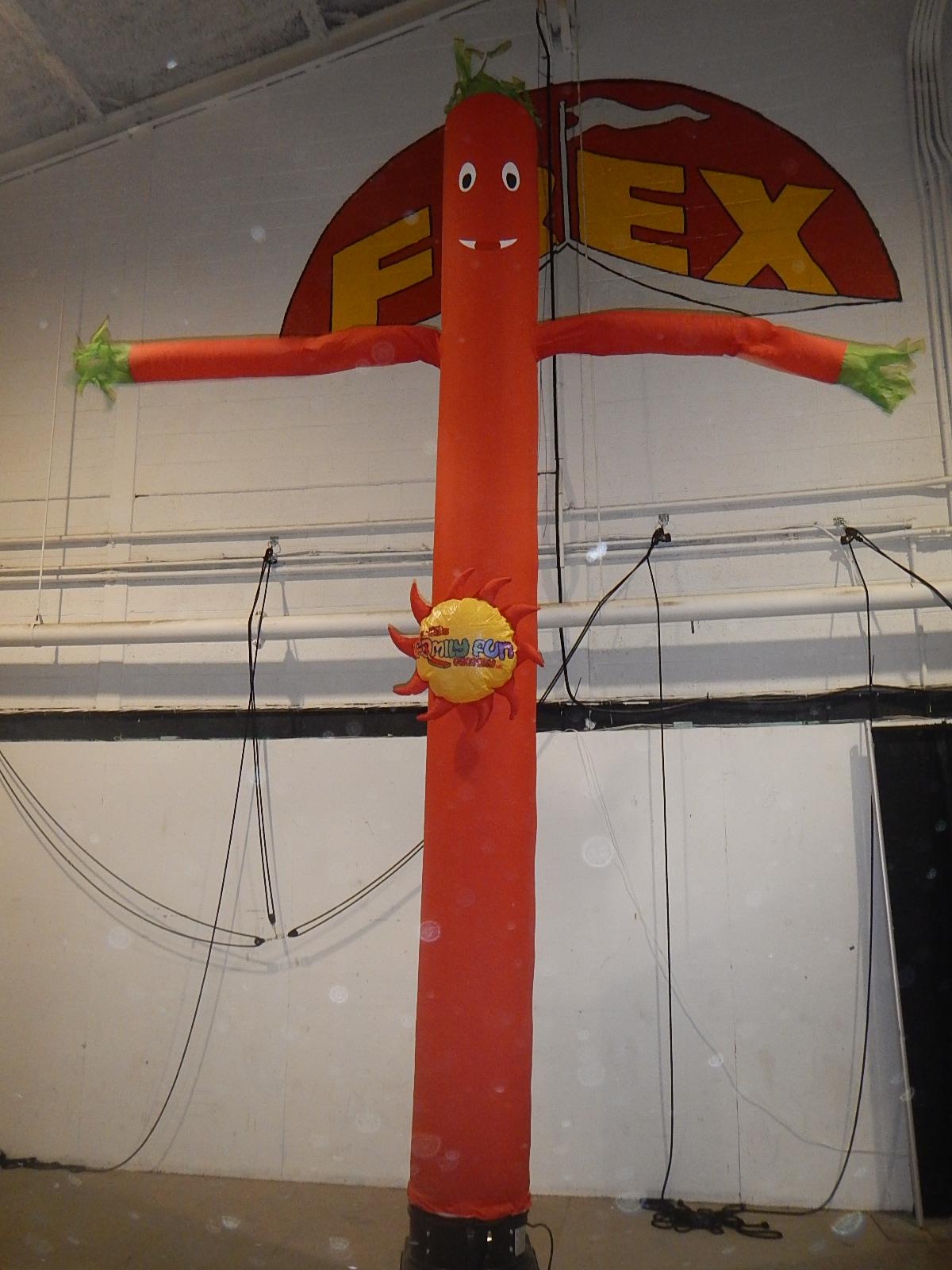 Airdancer Red 6m high
