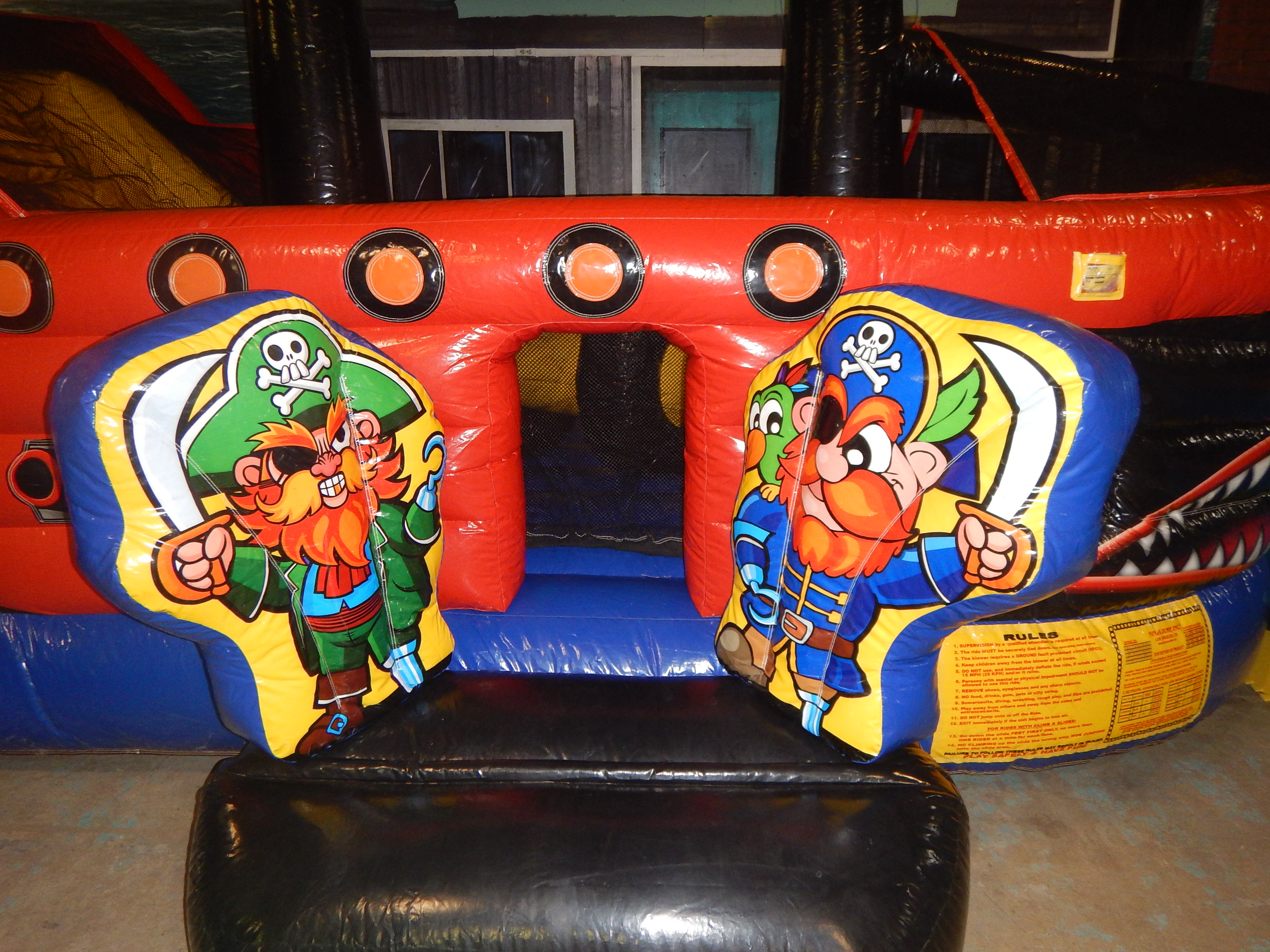Toddler Pirate ship