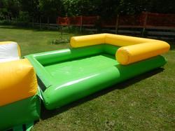 Pool for slipe and slide