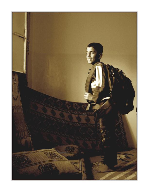 My Student in Jordan