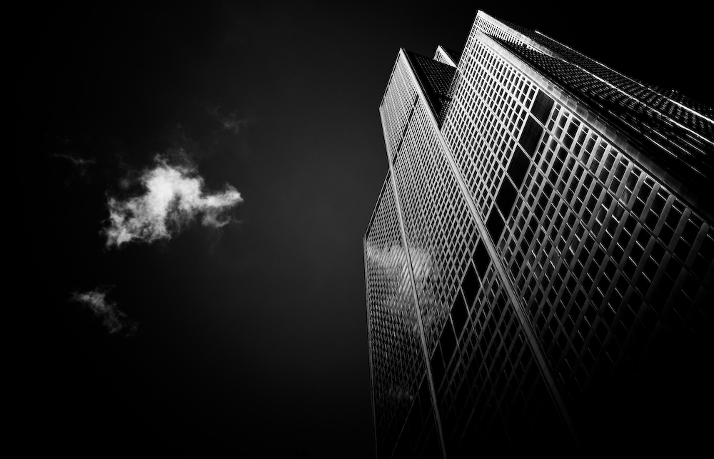 Sears Tower in Black and White