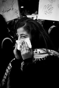 Nazareth Protest Girl