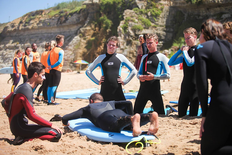 surf lesson Ericeira