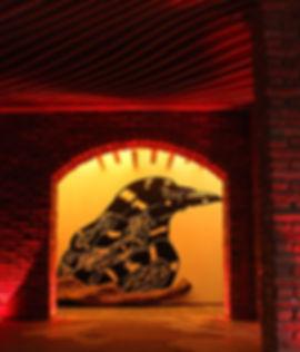gibravo winecrow mural