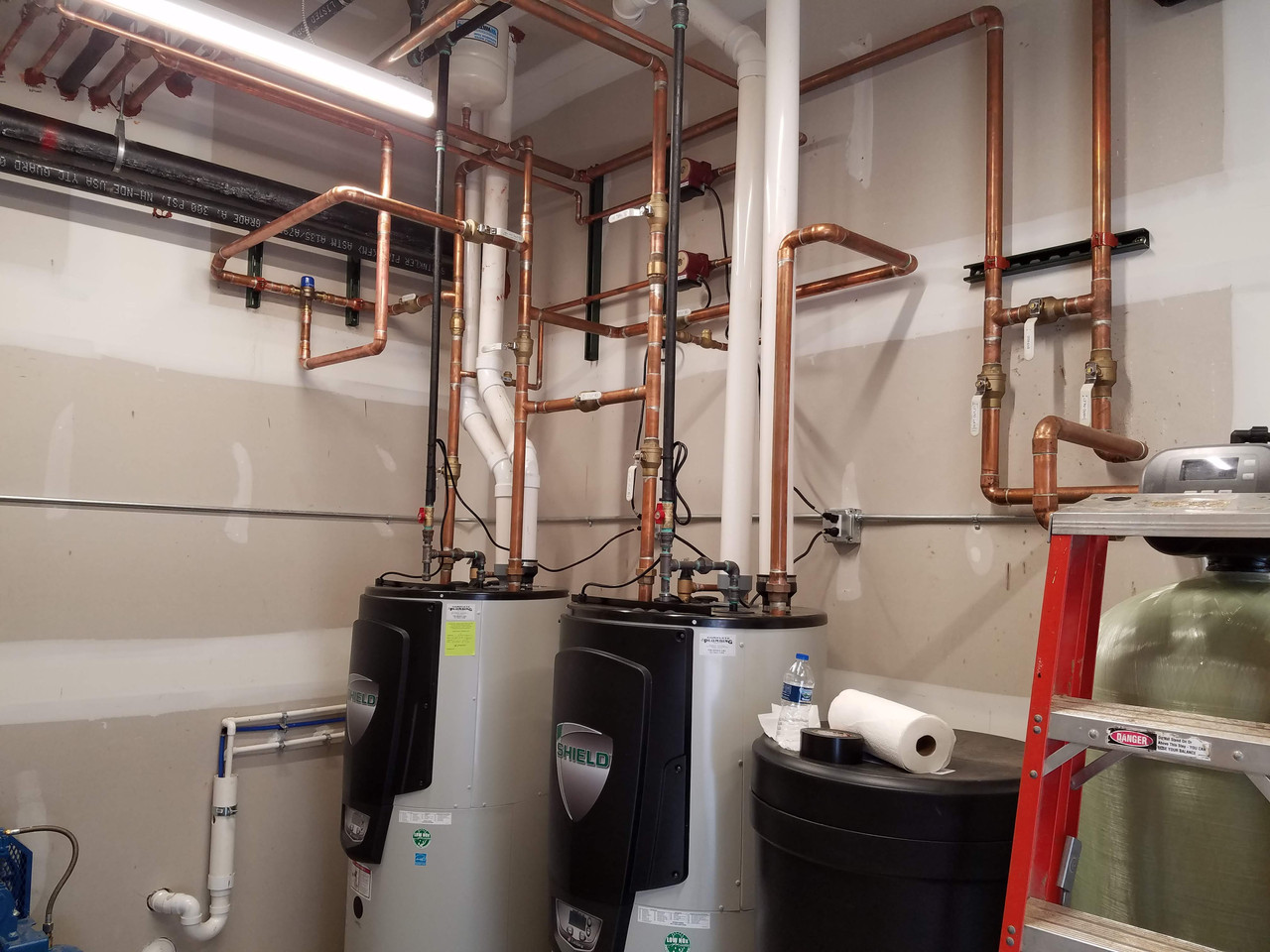 Commercial Water Heater-Medical Center