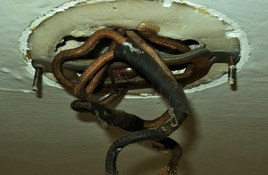 The Dangers of old wiring
