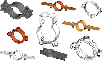 PIPE AND RISER CLAMPS