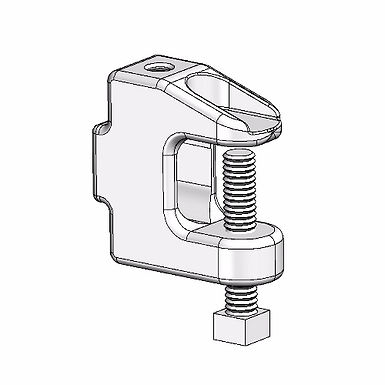 Universal Beam Clamp with Tapped Hole