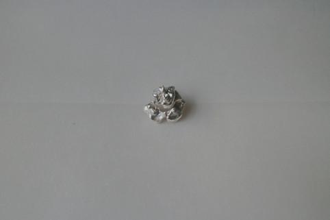 26 earring in fine silver - hkd $480