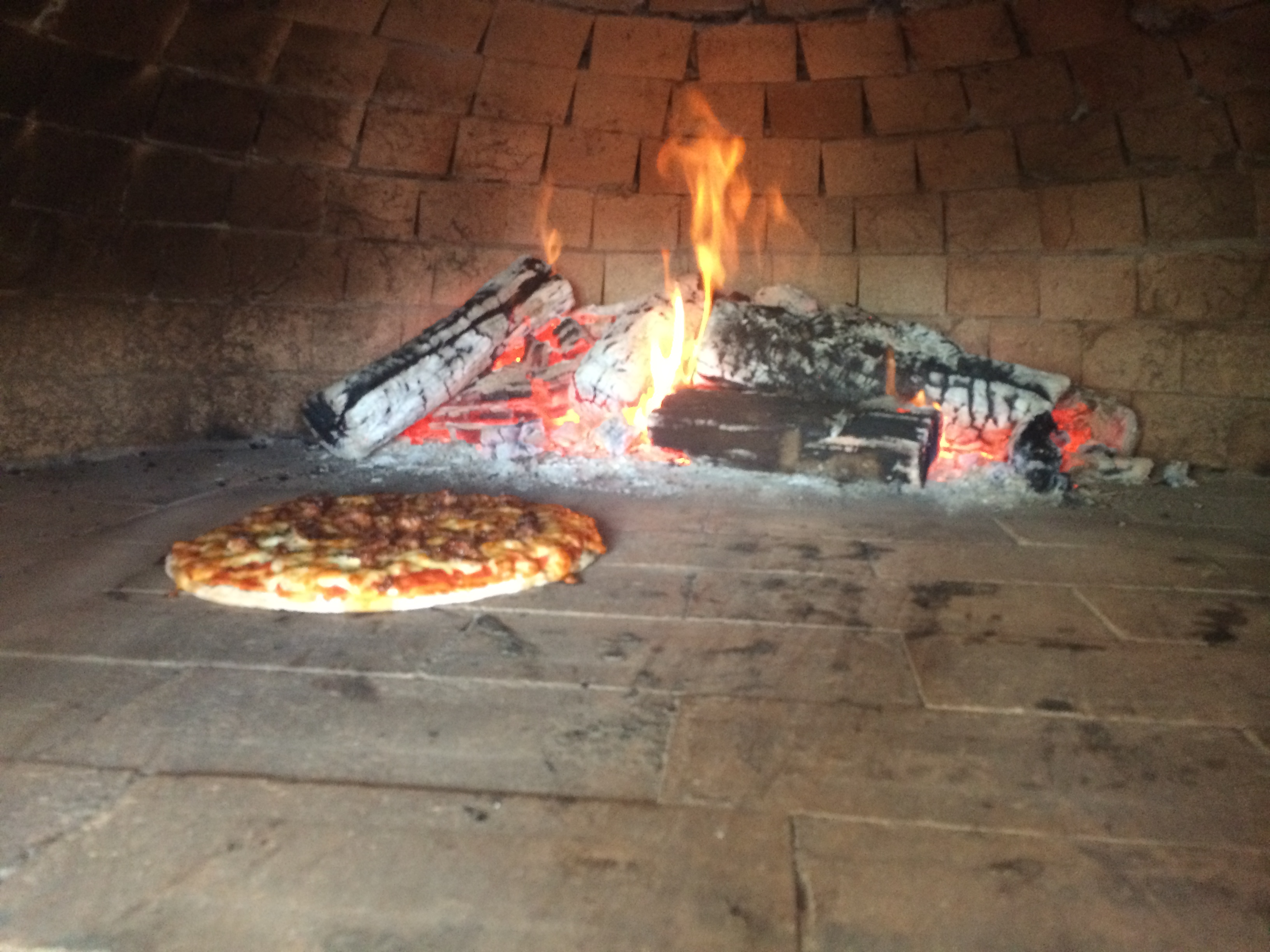 Pizza Oven at Tower