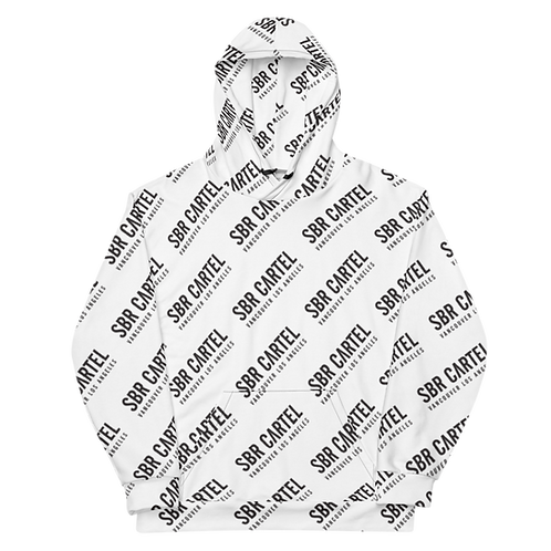 SBR ALL OVER LOGO HOODIE