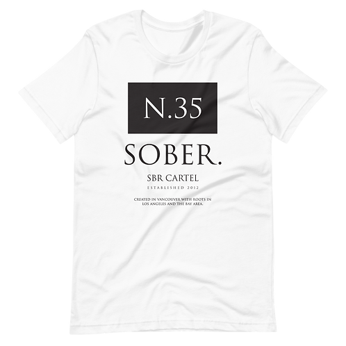 THE N.35 SOBER TEE