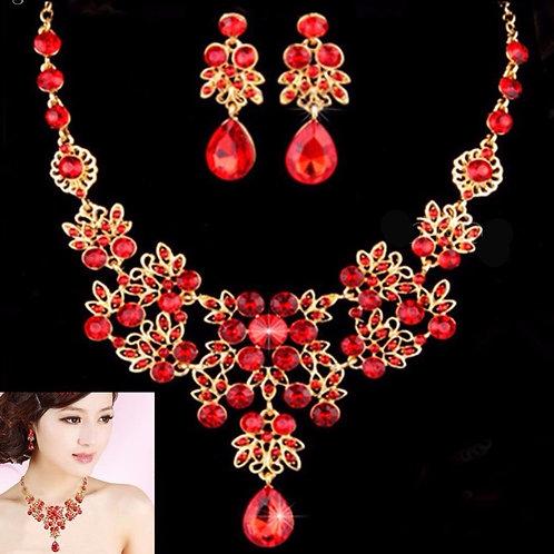 Princess Necklace & Earring Set