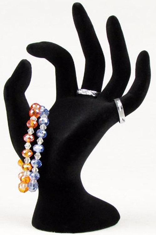 Velvet Hand, Ring, & Bracelet Display