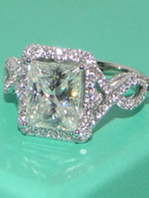Ice Crystal Topaz Ring