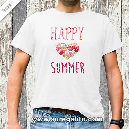 Camiseta unisex | Happy Summer