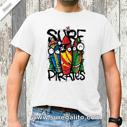 Camiseta unisex | Surf Pirates Tables