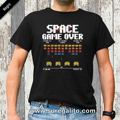 Camiseta unisex | Space Game Over