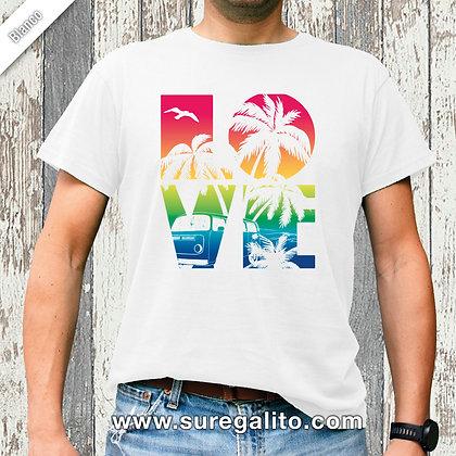 Camiseta unisex   Love