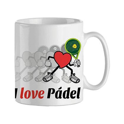 Taza | I love Pádel