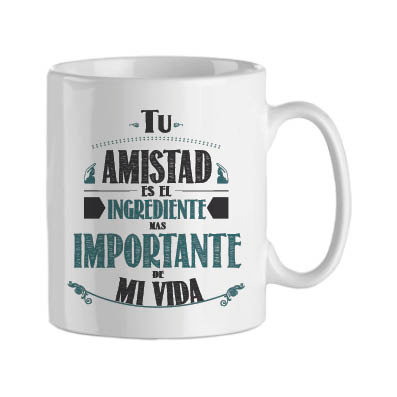 Taza | Amistad ingrediente