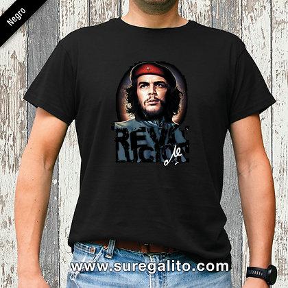 Camiseta unisex   Che Revolucion