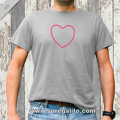 Camiseta unisex | Corazón