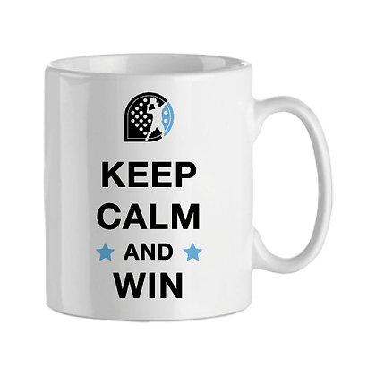 Taza | Keep calm and win (man)