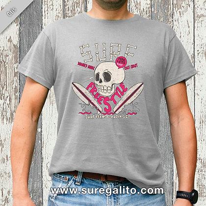 Camiseta unisex | Calavera Surf