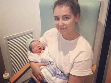 Alexander's birth story