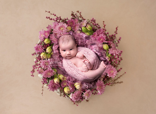 Aynaz: Newborn Photoshoot