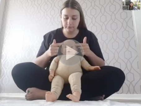 Event #13 - Live baby massage class with Emma Thompson from Head2Toes