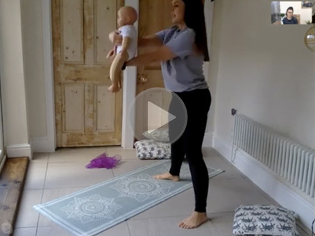 Event #29 - Live Mummy & Baby Yoga Class with Roxanne Hodgson from The Little Sensory Co