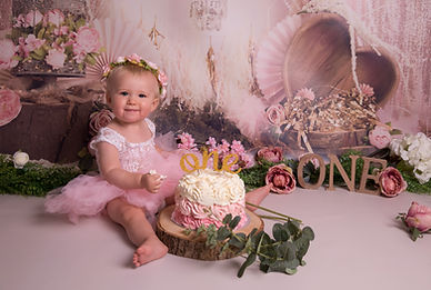 Cake Smash Photographer Near Me_ Willow_