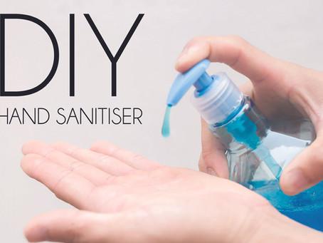DIY Hand Sanitiser - Full Recipe