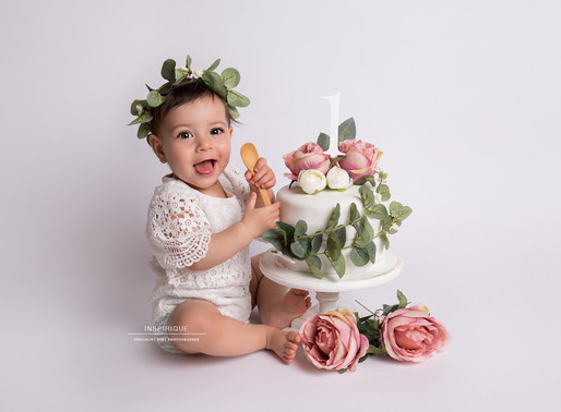 Lùcia: Cake Smash Photoshoot