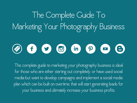 FOR PHOTOGRAPHERS: A COMPLETE GUIDE TO MARKET YOUR PHOTOGRAPHY BUSINESS