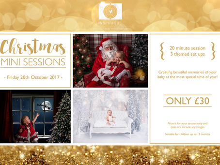 Christmas mini sessions with Inspirique Baby Photography