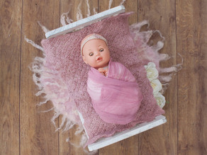 Client only version - DIY newborn photoshoot with Inspirique Baby Photography
