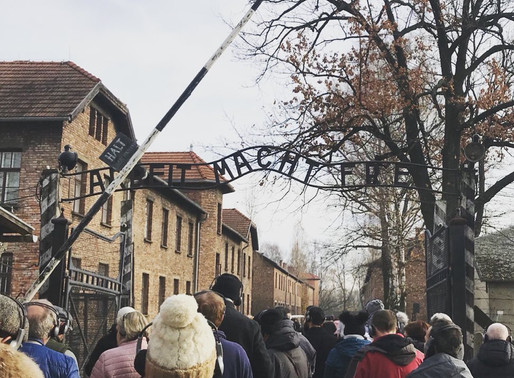Visiting Auschwitz with a baby