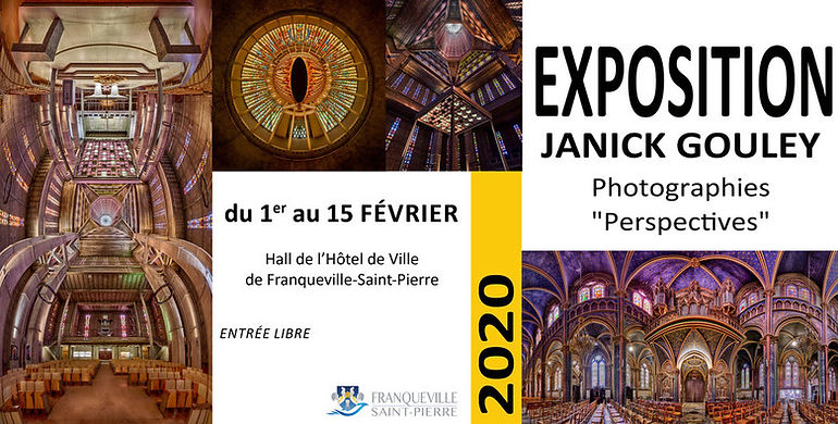 Exposition perspectives franqueville saint pierre janick gouley