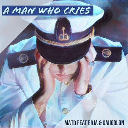 Official version A Man Who Cries - Cover