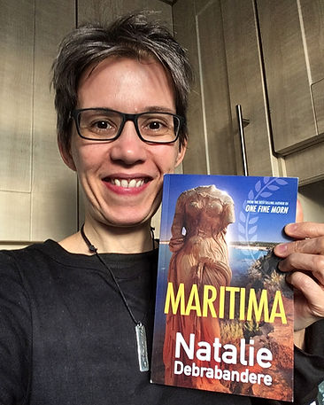 NATALIE DEBRABANDERE AUTHOR