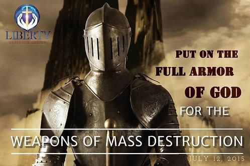 """CD - """"Weapons of Mass Destruction"""""""""""