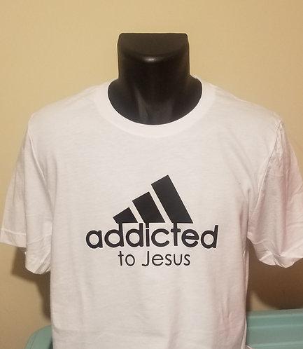 Addicted to Jesus T-Shirt (White)