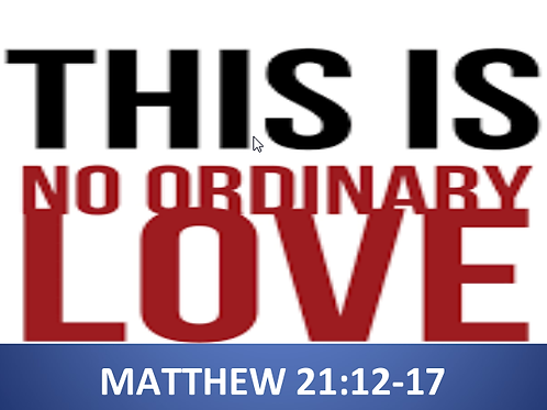 """9/11/16 - """"This is No Ordinary Love"""""""